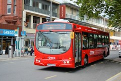 69391 - HY09 AUV (Solenteer) Tags: volvo southampton thethree wrightbus b7rle eclipseurban 69391 firsthampshiredorset hy09auv