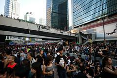 Umbrella Revolution #158 () Tags: street leica ltm people umbrella hongkong democracy day candid voigtlander central protest stranger demonstration revolution hongkongisland admiralty f40 m9 l39 21mm m39 occupy umbrellarevolution voigtlander21mm leicam9 occupycentral