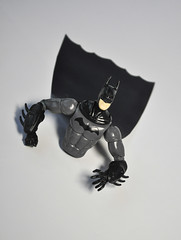 Bat-Half-Man (skipthefrogman) Tags: fun toy action figure batman kit bandai spru sprukits