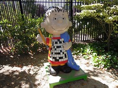 Crossword Linus (kevincrumbs) Tags: peanuts santarosa charlesmschulzmuseum linusvanpelt charlesmschulzmuseumandresearchcenter