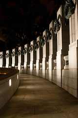 World War II Memorial Pillars - Washington DC (mastahanky) Tags: monument america washingtondc memorial unitedstates wwii worldwarii nationalmall pillars