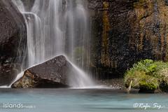 Lavafalls in Borgarfjord