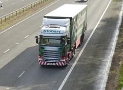 H6877 - PO14 VGL (Cammies Transport Photography) Tags: truck lorry eddie flyover scania esl odile m74 lockerbie stobart eddiestobart r440 po14vgl h6877