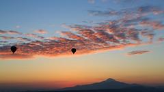 Hot air balloon, Goreme (Florian  v18) Tags: travel canon turkey tour 旅游 风景 天空 佳能 土耳其 24105mm 热气球 5d3 5dmarkiii 格雷梅