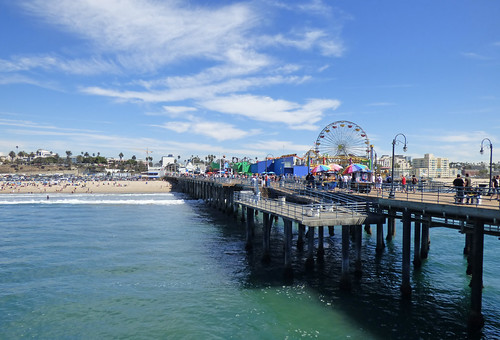Santa Monica Pier 1 by ahisgett, on Flickr