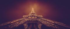 tour eiffel (L-BERD) Tags: paris france night noiretblanc toureiffel nuit couleur climat