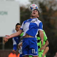 """Bristol Rovers v Forest Green Rovers 181014 • <a style=""""font-size:0.8em;"""" href=""""https://www.flickr.com/photos/125622569@N04/15597308146/"""" target=""""_blank"""">View on Flickr</a>"""