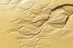LINES ON THE SAND (Unretouched photograph) Tags: beach lines sand creativecommons abstraction lowtide cdiz tarifa puntapaloma manualexposureprogram texturesforall 2470mmf28eflusm