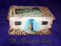 Old Pancevo by Decoupage Saga (DecoupageSaga) Tags: vintage box handmade boxes homedecor artcrafts decoupage vintageboxes vintagebox decoupagebox decoupageboxes decoupagesaga