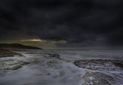 """ WITCHES POINT "" (Wiffsmiff23) Tags: storm beach southwales dramatic drama epic southerndown traeth dunraven dunravenbay witchespoint heritagecoastlinesouthwales"