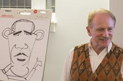 KAL_102814_042 (1) (UChicagoPolitics) Tags: chicago fall kevin politics review highlights international seminar speaker quarter speakers journalism cartoonist bleyer