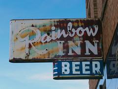Rainbow Inn (Signs Along the Way) Tags: beer bar mainstreet neon tavern ghosttown neonsign rainbowinn helperutah