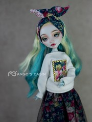 174MHLana (4) (mango20060311) Tags: art monster high doll ooak mango repaint monsterhigh