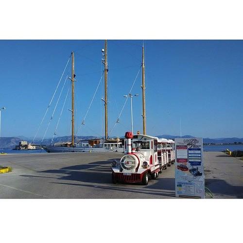 At Nafplion city. #ribcruises #rentaboat #greece #sky #boat