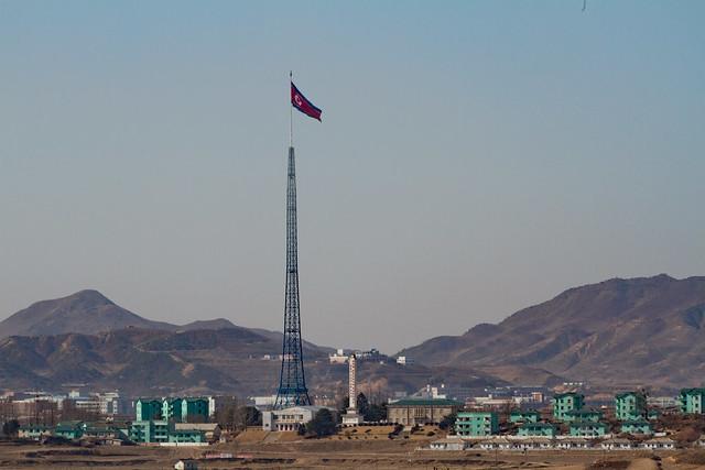 dprk un northkorea armed dmz winter canon 7d