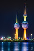 Kuwait Towers (kamal_aljahed) Tags: nightshot kuwait towers colors night city cityscape outdoor canon 80d