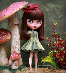 The Zone (pure_embers) Tags: pure embers blythe doll dolls custom almonddoll ruby embersruby neemo flection takara neo uk girl rbl pureembers pretty beautiful photography tirinandkatten dress bow