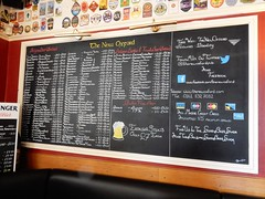 New Oxford, Salford (deltrems) Tags: beer real ale menu blackboard pub bar inn tavern hote hostelry house restaurant belgian newoxford new oxford