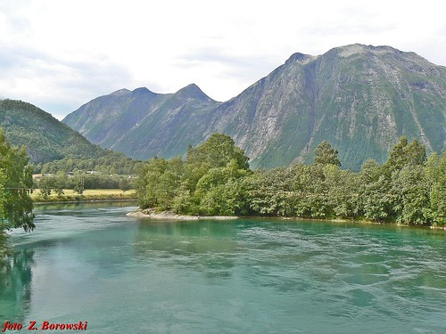 Valley of river Rauma (Romsdalen)