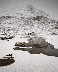 Echoes in the Silence (Greg Whitton Photography) Tags: highlands landscape scotland seascape sony a7rii meall a'ghiubhais corbett mountain winter snow ice moody stillness