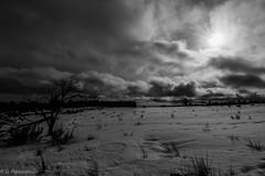 Bad Land (Deathscythe42) Tags: canon tokina1116f28 pilat loire rhônealpes noiretblanc blackandwhite paysage paysages landscape neige snow eos70d