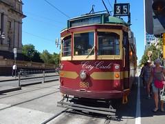 W-class City Circle tram (sander_sloots) Tags: tram wclass melbourne city circle line 35