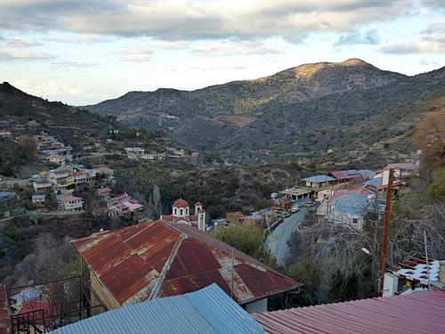 Pedoulas - parish church terrace (4)