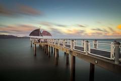 Strand Pier (r+r photography) Tags: australia queensland townsville jetty nikond800 holiday dusk longexposure nd400 clouds water neutraldensity strandpier nikkor1685f3556gedvr