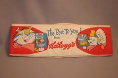 Kellogg's Paper Hat (toyfun4u) Tags: kelloggs cereal
