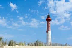 Le Phare de la Coubre (Jan van der Wolf) Tags: map143494v lighthouse vuurtoren landscape landschap france beach lepharedelacoubre coubre phare clouds sky strand shore lacoubrelighthouse