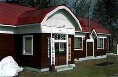 Old school house (threepinner) Tags: furano hokkaidou hokkaido northernjapan japan spring school 富良野 北海道 北日本 日本 pentax pentaxm mzm 50mm f17 negative iso100 selfdeveloped