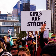 Girls Are Strong (bamoffitteventphotos) Tags: ifttt instagram sandiegowomensmarch womensmarch womensmarchsigns theresistance resist persist persistence girlsarestrong canon7d sandiego harbordrive