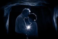 Dutch Couple (♥siebe ©) Tags: nederland 2017 holland netherlands siebebaardafotografie thenetherlands dutch familie family fotoshoot photoshoot portrait portret wwwsiebebaardafotografienl lovers cave blue light