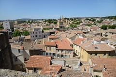 0684-20160521_Salon de Provence-Bouches du Rhone-France-Chateau de l'Emperi-view from Castle walls Nwards across City (Nick Kaye) Tags: salondeprovence bouchesdurhone france europe city castle house museum