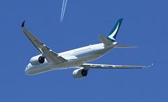 First flight msn93 F-WZNX 12/4/2017 (A380_TLS_A350) Tags: a350 toulouse fwznx
