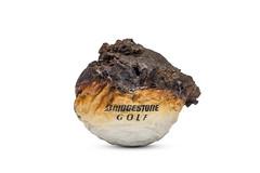 Scorched (Bill Hornstein) Tags: bridgestone ball burned charred fire golf golfball hot melt scorched