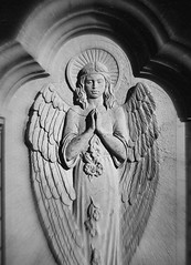 Cherub (Stillhet A.) Tags: cherub cemetery monochrome