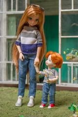 Happy Easter (kinmegami) Tags: doll diorama dollhouse dolldiorama hybrid azonebody azone liccachan licca kelly shelly tommy obitsu easter pureneemobody