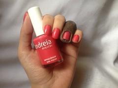 82 (Andreia) (Daniela nailwear) Tags: 82 andreia rosa cremoso esmaltes esmalteimportado troquinha mãofeita