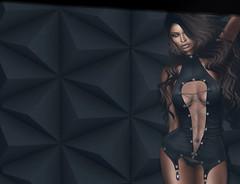 1.03 (Carley Benazzi) Tags: uc unitedcolors blackfair prtty collabor88 couture countdown posefair2017 lelutka studioexposuremakeup model mesh makeup powderpack events hair haute bento