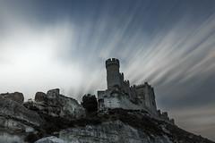 Castillo de Peñafiel - Peñafiel castle (javidurojimenez) Tags: peñafiel castillo castle españa spain valladolid castilla y leon larga exposicion long exposure