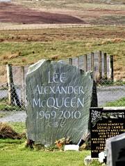 Fashion Designer Alexander McQueen (carolforsyth1) Tags: alexandermcqueen isleofskye gravestones