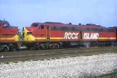 Rock Island E9 664 (Chuck Zeiler) Tags: rock island ri crip e9 664 railroad emd locomotive chicago chz
