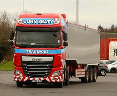 DAF 16XF John Beaty Penrith Bulk Tipper PX66JJY Frank Hilton IMG_5072 (Frank Hilton.) Tags: classic truck lorry eight wheel maudsley aec atkinson albion leyalnd bristol austin outside heavy haulage crane 8 axle