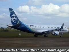 Embraer E-175 (E-170-200/LR) (Marco Zappatori's Agency) Tags: embraer e175 horizonair alaskaairlines prezk n622qx robertoantenore marcozappatorisagency