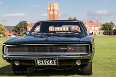 Straight Outta Bullitt (Howard Ferrier) Tags: architecture australia badge bellarinepeninsula black bumperbar car carshow chrome classiccar corio coupe dodge dodgecharger educationalbuildings event field flora frontview geelong geelonggrammar grass grille licenceplate mopar motorvehicle musclecar numberplate oceania oval registrationplate school shapes tower transport vegetation vehiclecomponents vehicleparts victoria views