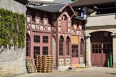 _DSC0287 Beaune, Bourgogne. Caves Patriarche (Marie-Annick Vigne. + 1'000'000. Merci. Thanks) Tags: beaune bourgogne france colombages