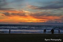 sunset H.B. (rookieoftheyear98) Tags: oc orangecounty colors view beach sunset sun seascape seascapes water waves orange