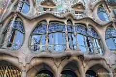 Casa Batlló by Gaudí (Martha M G Raymundo) Tags: barcelona casabatlló gaudí art architecture modernisme artnouveau trip travel traveller espanha spain