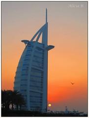 Burj Al Arab -  In Explore (Alicia B,) Tags: dubai burjalarab playa beach atardecer sunset